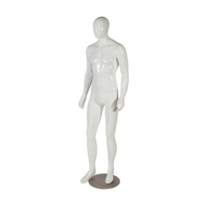 DISCONTINUED - R1244 - Full Body Male Mannequin (Zak) 1