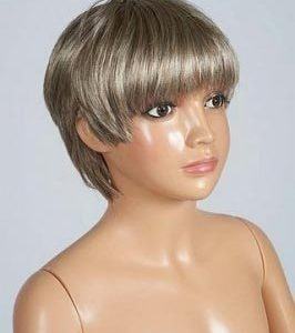 R392A Girl Mannequin Wig