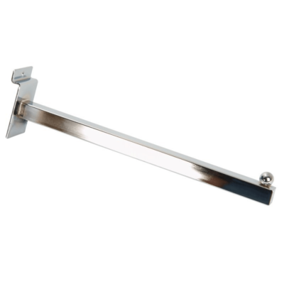 """R507A Straight Arm for Slatwall - 400mm / 16"""" 1"""