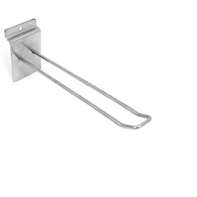 """R530A - Looped Euro Hooks for Slatwall - 250mm / 10"""" - Pack of 100 1"""