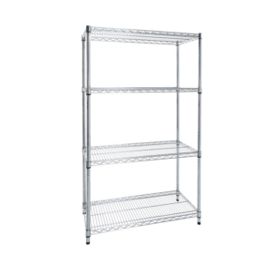 Chrome Wire Shelving - 4 shelf bundle