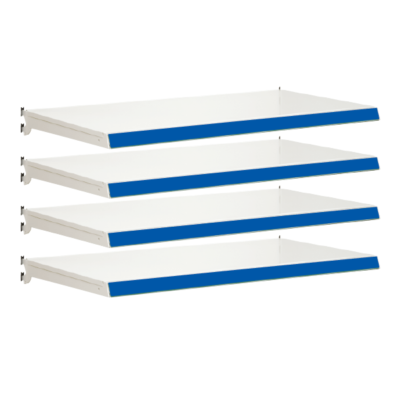 Pack of 4 complete shelves for Evolve S50i - Jura & Blue