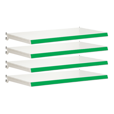 Pack of 4 complete shelves for Evolve S50i - Jura & Green