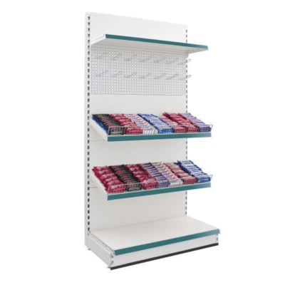 Retail Shop Shelving for Stationery and Confectionery Displays