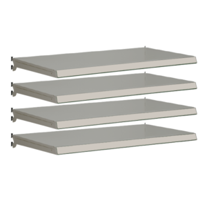 Pack of 4 complete shelves for Evolve S50i - Silver