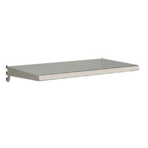Heavy Duty Shelf bundles to suit Evolve S50i retail shop shelving - Silver