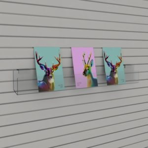 Compact Card Display for Slatwall