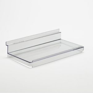SL1100 Flat Slatwall Shelf with Lip