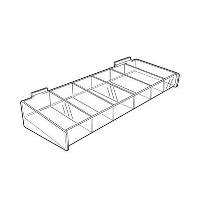 SL1535 Cosmetic Tray for Slatwall