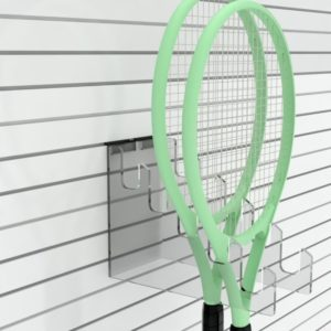 SL2400 - Slatwall Racket Holder