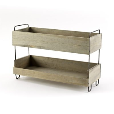 SP324 Narrow Tiered Display Stand