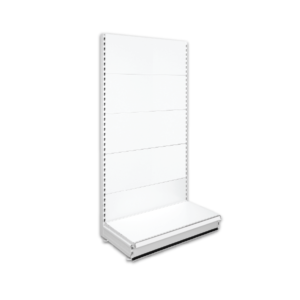 Single Sided Retail Shop Shelving - Jura
