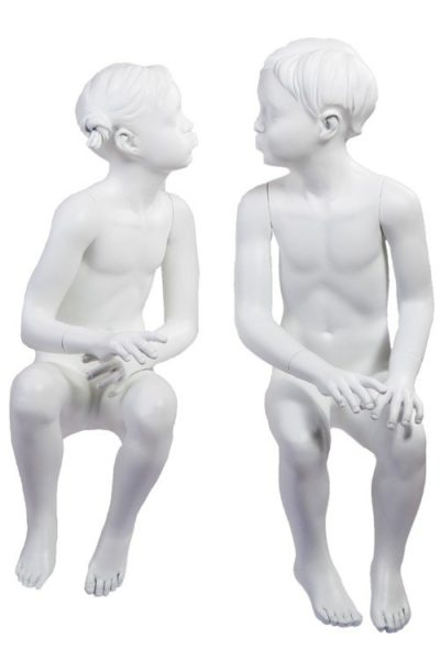 Children's Kissing Mannequins