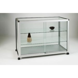 Unibox UB02 - Full Display Counter Showcases - 1250mm