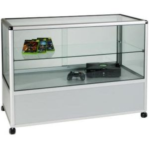 Unibox UB05 Two Thirds Display Counter Showcase - 1250mm