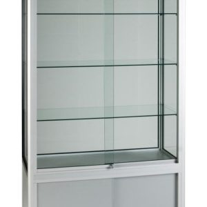 Unibox UB026 - 3/4 Display Tower Showcase with Storage - Wide