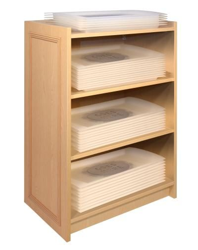 Choice Range - Tray and Condiment Stand - Beech