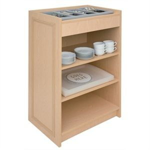 Choice Range - Cutlery Stand - Self Assembly - Oak