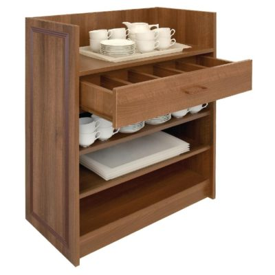 Bolero Dumbwaiter without Doors - Walnut - CF109 1