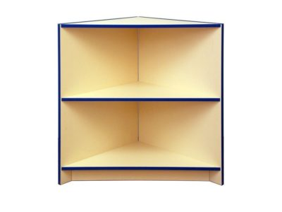 Castle Open Corner Counter in Cream and Blue Trim - Clearance 1