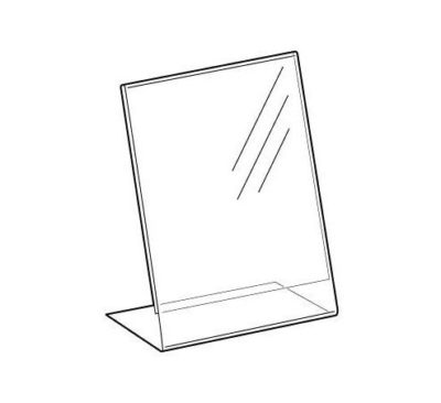 PS8000 - Freestanding Display Stand / Sign / Poster Holder: A6 Port 2