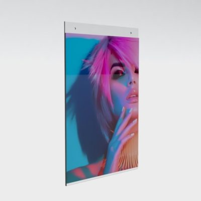 PS8062 - Wall Mounting/Hanging Poster Holders: A4 Port