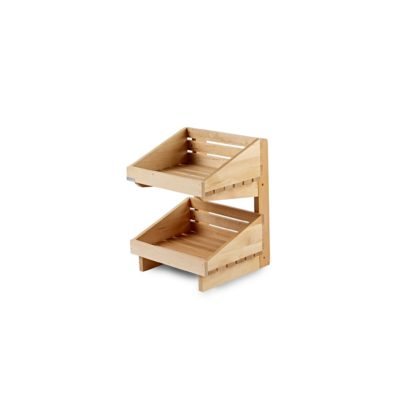 SP100 2 tier counter top display stand