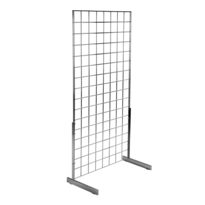 Gridwall Mesh Single Side Display Stand with Standard Legs