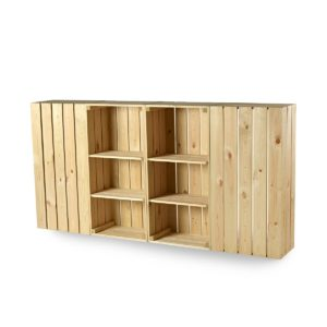 CrateWall Retail Counter 200cm