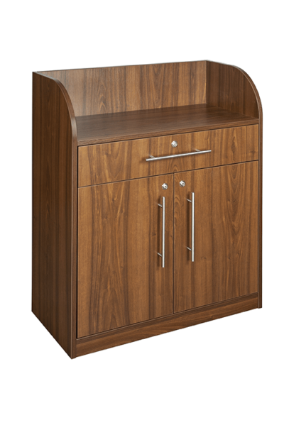 Walnut Effect Dumbwaiter