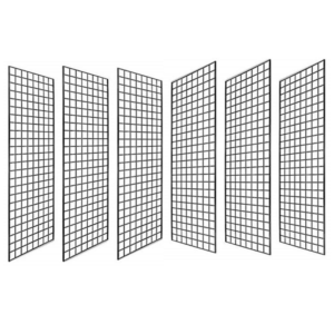 Pack of 6 Gridwall Panels
