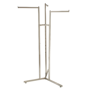 R112 - Adjustable 3 Arm Merchandising Rail with Straight Arms
