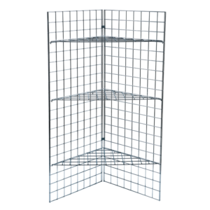 5ft Gridwall Display with Shelves