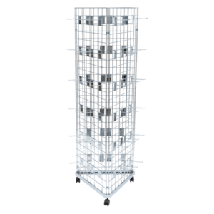 6ft Gridwall Mobile Display with Hooks
