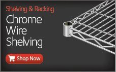 Best Selling Chrome Wire Shelving