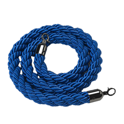 R176 Blue Barrier Rope