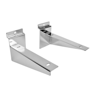 R536 Slatwall Wood Shelf Bracket 100mm