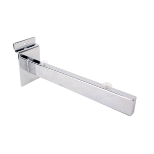 R542 Slatwall Glass Shelf Bracket - 200mm