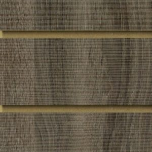 Rustic Oak Dark Slatwall Panels
