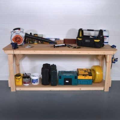 Mdf Wooden Work Bench 1