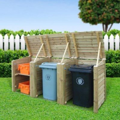 Morcott Triple Combo Bin Storage Unit 1