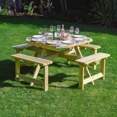 Whitwell Table - with 2 Table Top Options 1