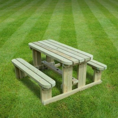 Tinwell Junior Rounded Picnic Bench 1