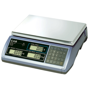 CAS ER Plus Flat Plate Weighing Scale