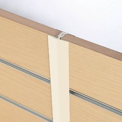 H Section Slatwall Edge Image Cream