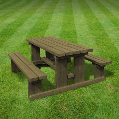 Tinwell Junior Picnic Bench 2