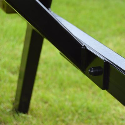 Oakham Steel Rounded Picnic Bench 3