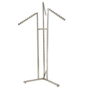 R113 - Adjustable 3 Arm Merchandising Rail with Waterfall Arms