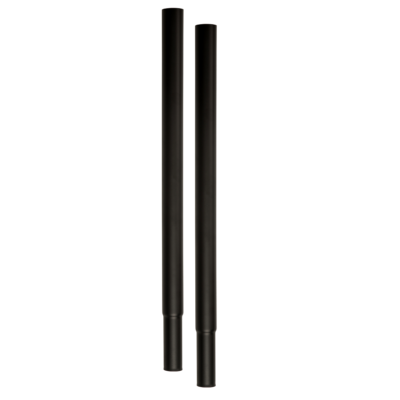 R7 Standard Extensions for Clothes Rails - Black