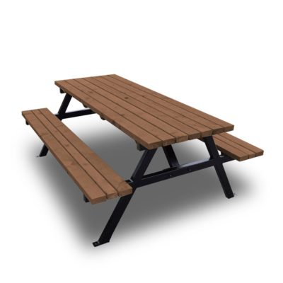 Oakham Steel Picnic Bench 2